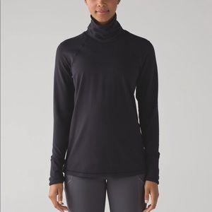 Lululemon Black turtleneck long sleeve size 4